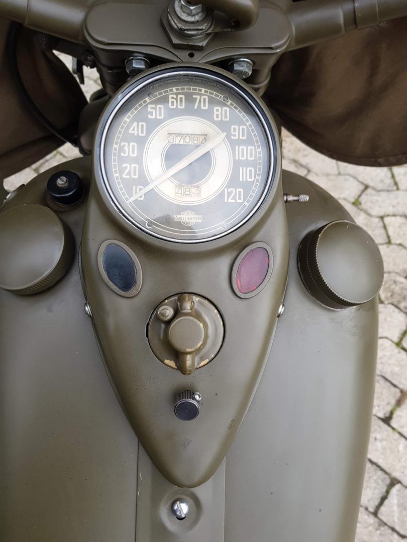 1942 Harley Davidson WLC Servicar