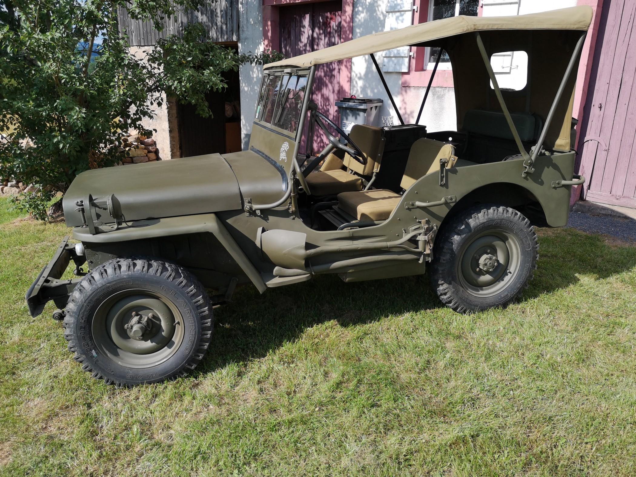 HOTCHKISS M201 Jeep - 1962