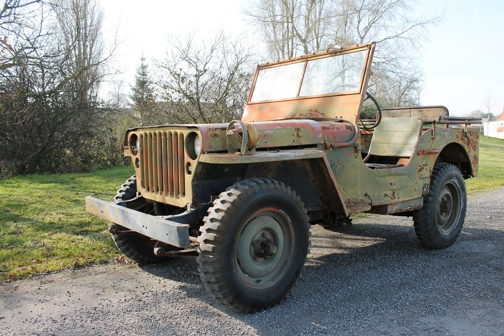 JEEP Willys U.S.M.C « Ambulance »