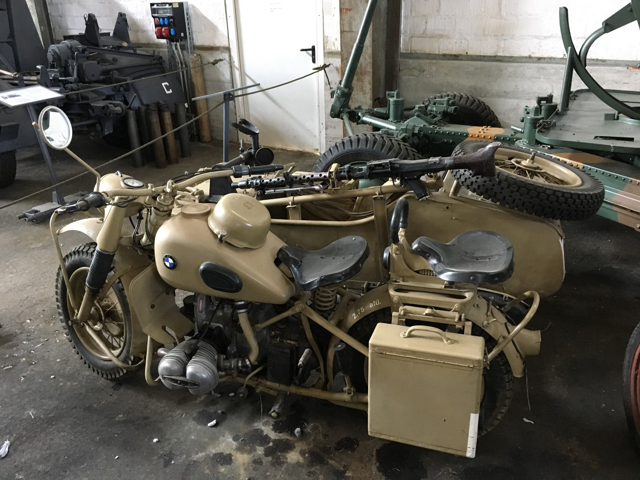 BMW R75, Wehrmachtsgespann