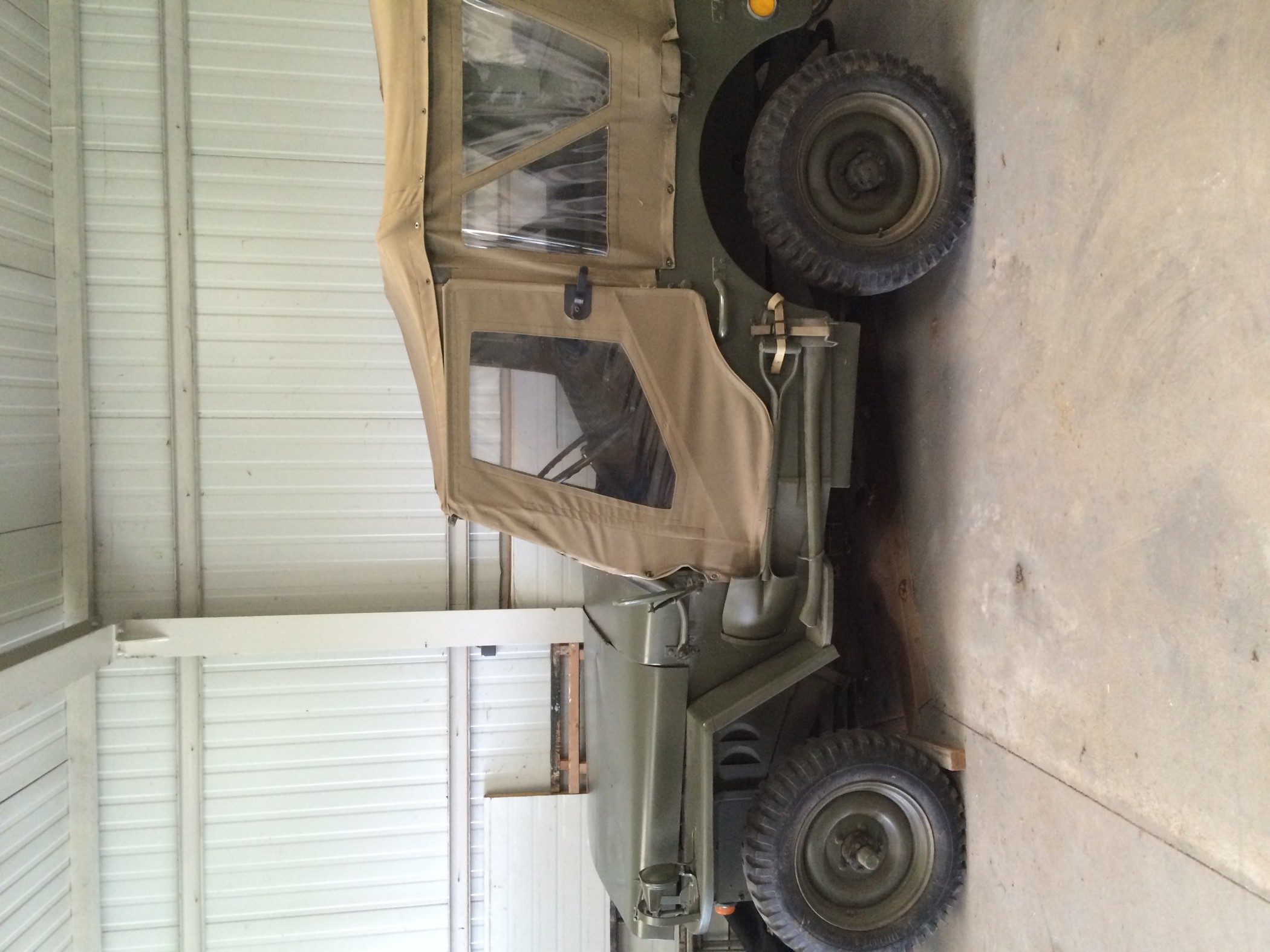 Jeep Willis M201 Hotchkiss de 1956
