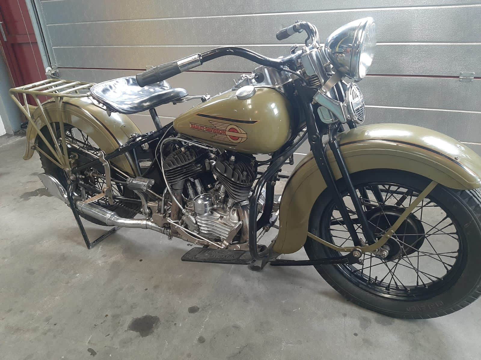 1937 Harley Davidson WL 750
