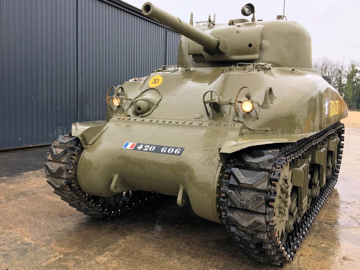 SHERMAN M4A1 BENGHAZI II