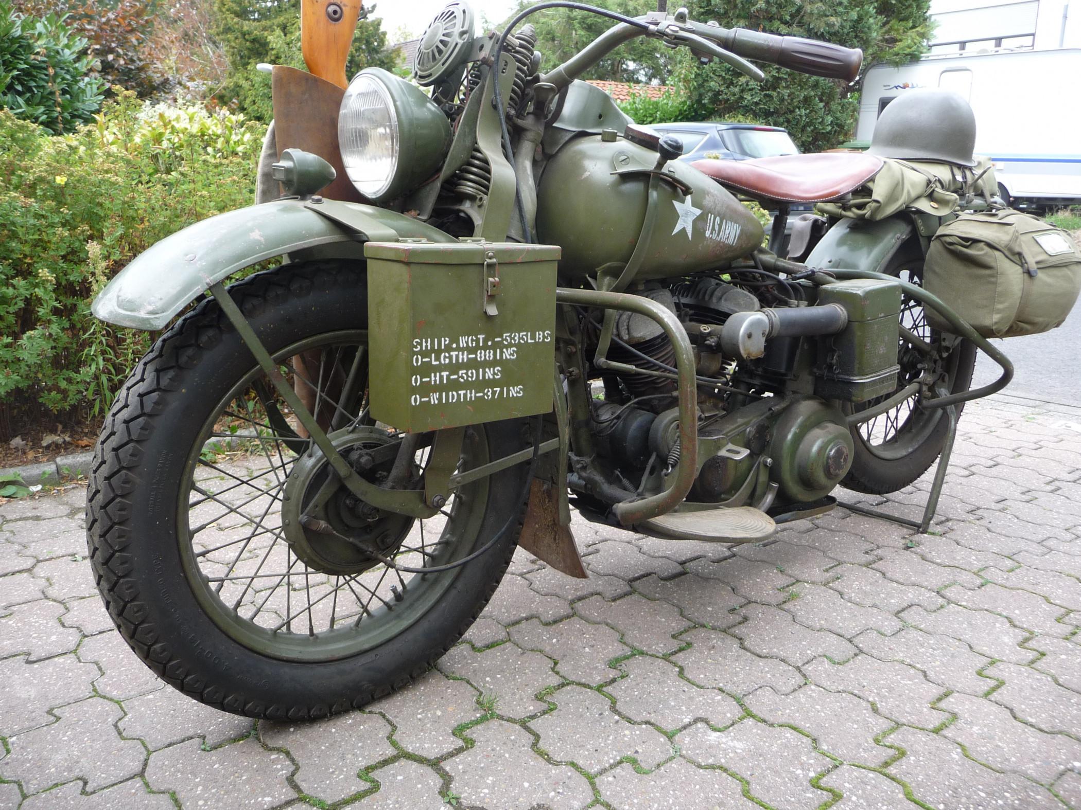1942 Harley Davidson WLA Military