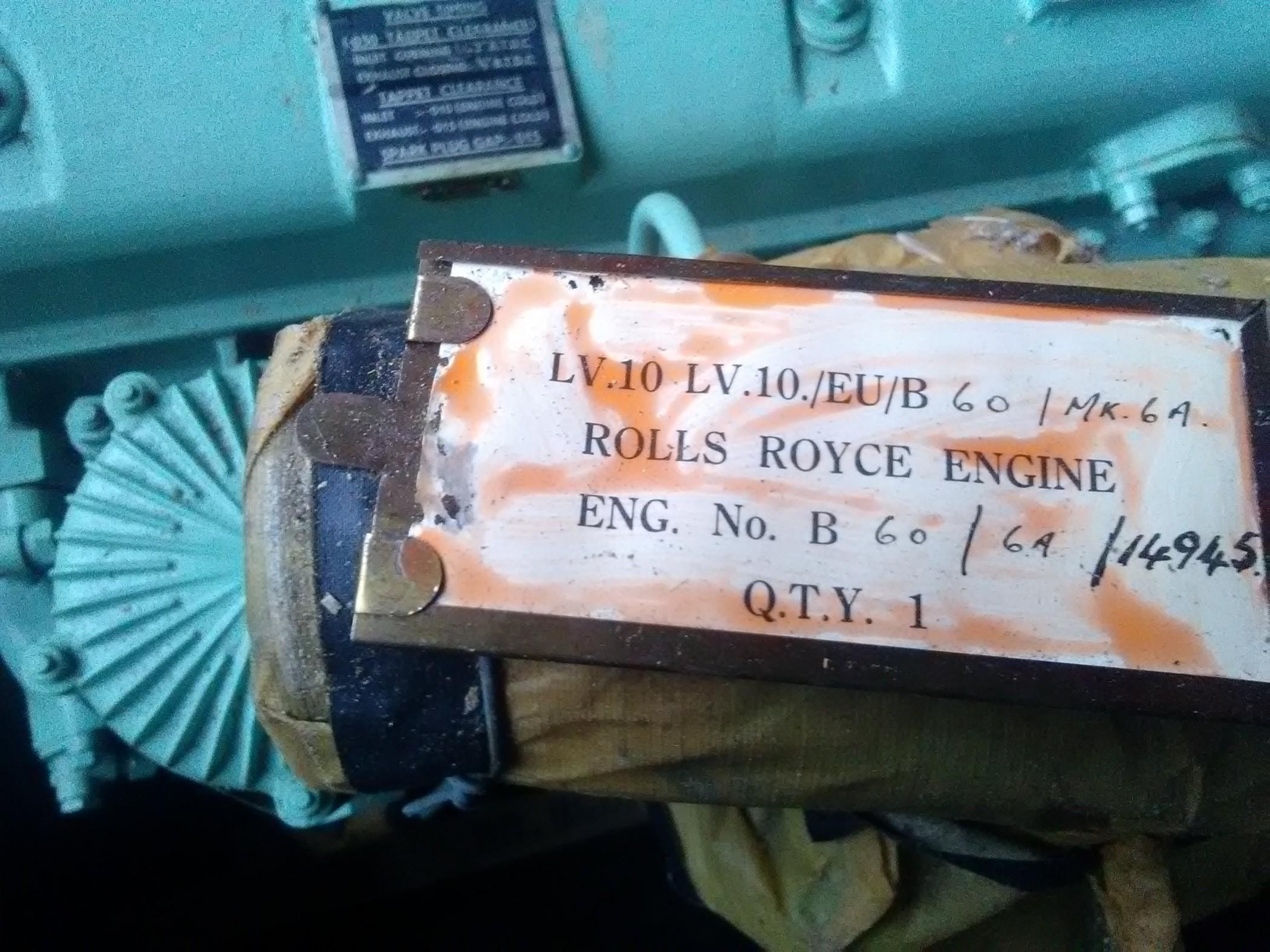 moteur rolls royce lv 10 b60