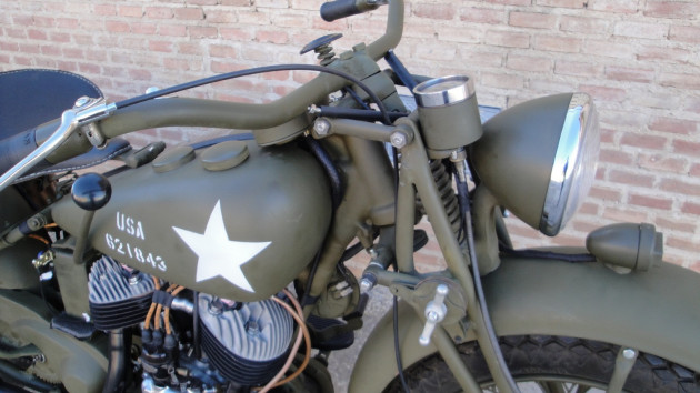 1941 Indian Scout 741 military